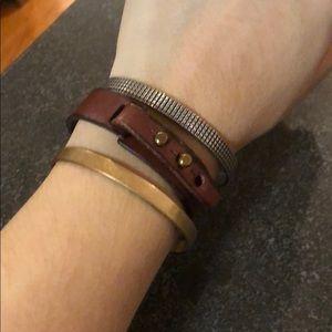 Madewell bracelet stack